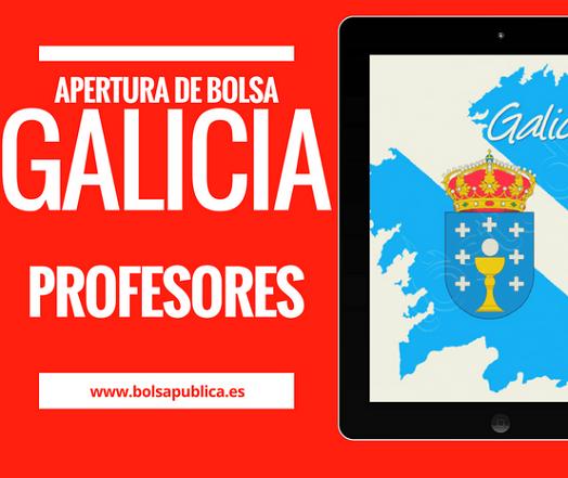 bolsa galicia abierta interinos