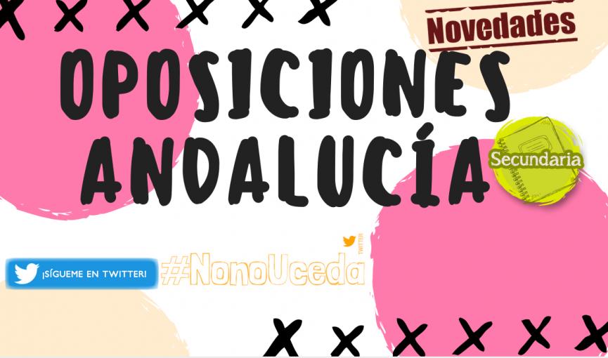 Oposiciones profesores andalucía 2018