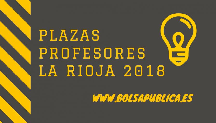 La Rioja Oposiciones Docentes 2018