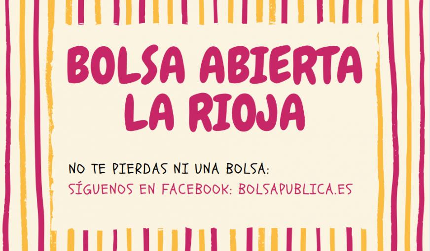 Bolsa de trabajo La Rioja 2018 profewsores inteirnos