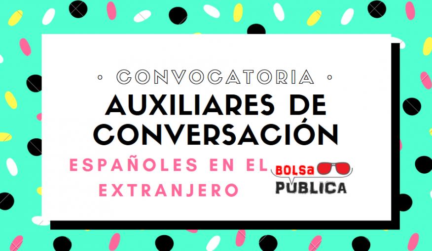 Convocatoria Españoles en el extranjero 2018-19 profesores y maestros