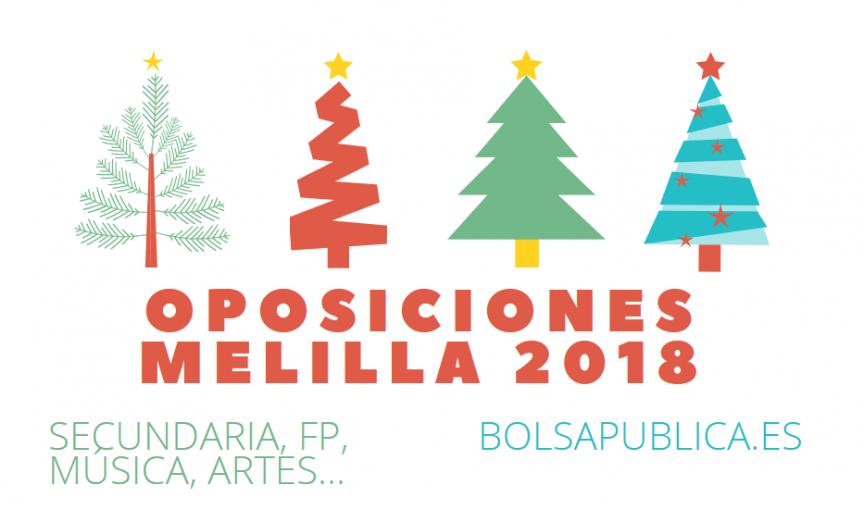 plazas oposiciones secundaria melilla 2018 profesores