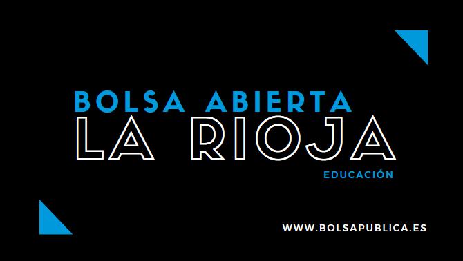 Bolsa bierta matemáticas la Rioja profesores secundaria extraordinaria