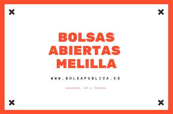 Bolsas Abiertas Secundaria es Bolsapublica De Melilla w0PnkO
