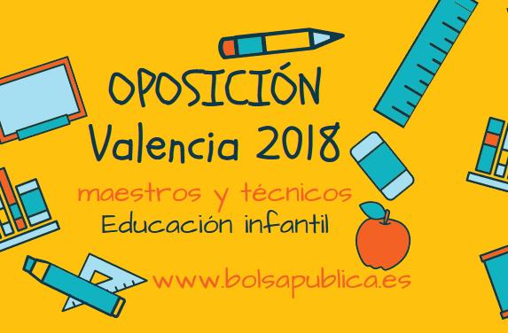 maestros educación infantil oposiciones valencia 2018