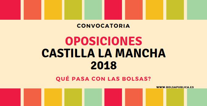 Oposiciones Castilla La Mancha 2018 Educación