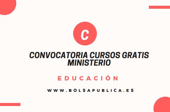 cursos gratis homologados ministerio educación docentes