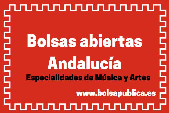 bolsa abiertas de interinos trabajo en Andalucia profesores maestros