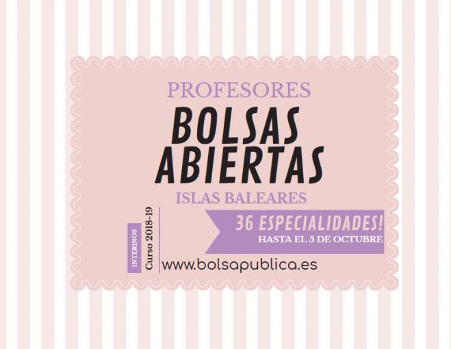 Profesores De En Islas Trabajo Las Bolsas Para Baleares w8mNn0
