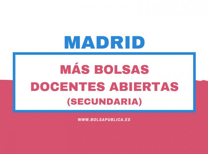 bolsas inteirnos abiertas nen Madrid (educación)