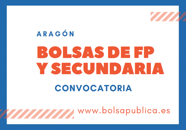 bolsa de interinos para ser profesores en Aragón