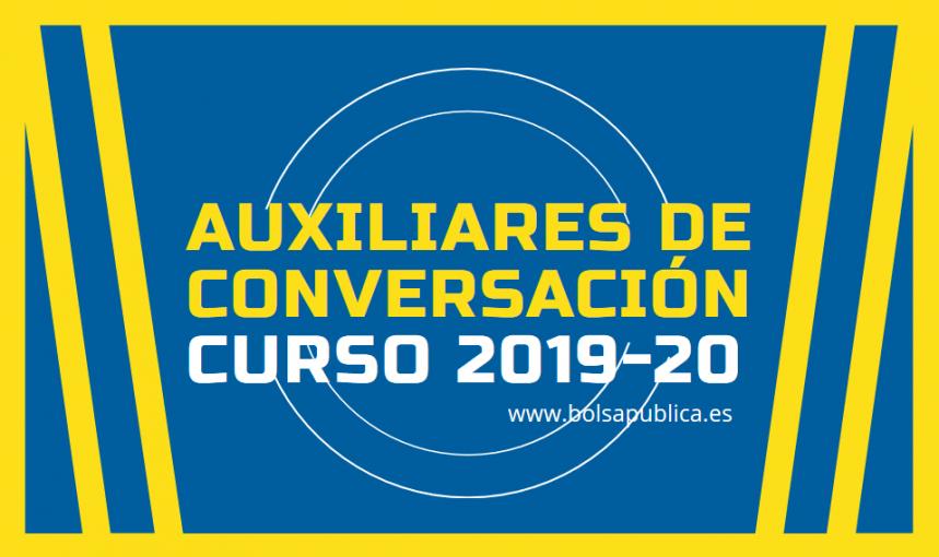 auxiliares de conversación curso 2019 2020