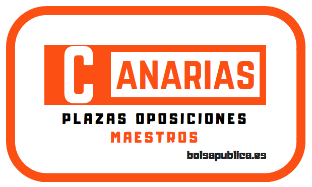 Distribución de plazas de Canarias para el Cuerpo de Maestros en las Oposiciones de 2019