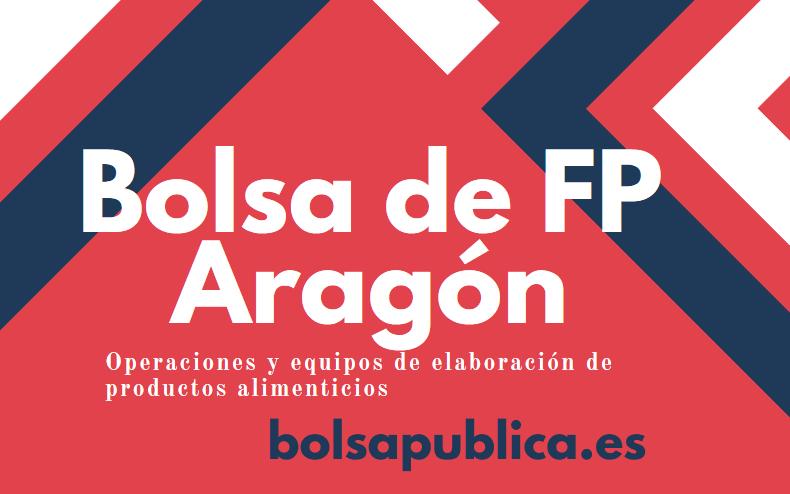 bolsa de productos alimenticios en Aragón bolsa de profesores
