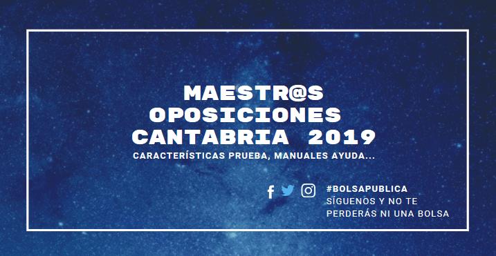 oposiciones cantabria 2019 maestros ayuda