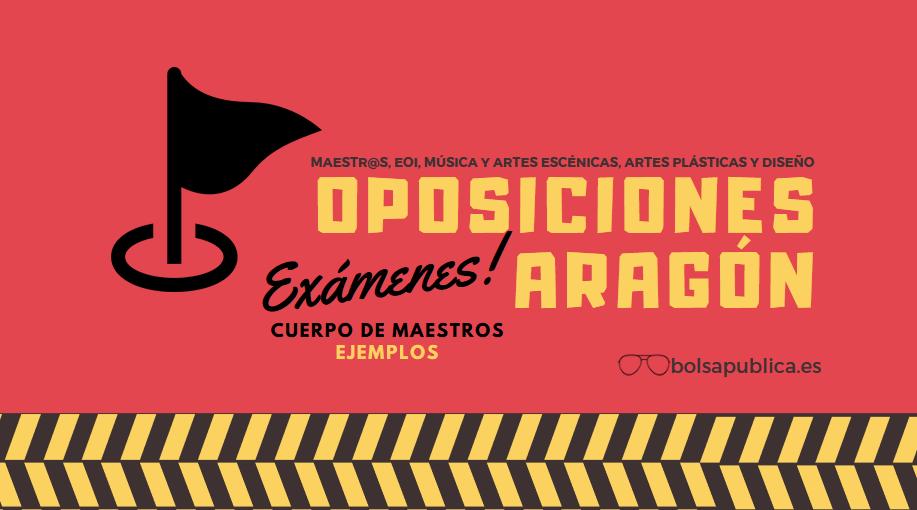 oposiciones aragón mnaestros 2019