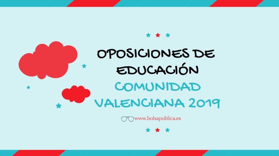 oposiciones comunidad valenciana secundaria fp