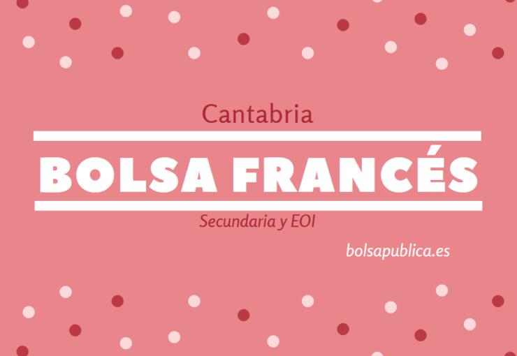 bolsa de trabajo para profesores de frances en Cantabria