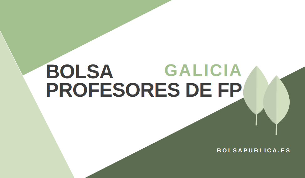 Fp Bolsapublica De Profesores Galicia En es Bolsa Abierta PkXiOZu