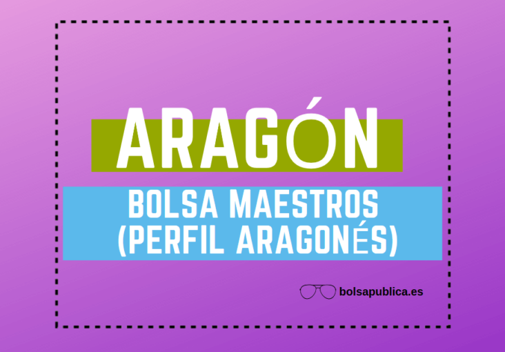 Abierta es Bolsa Con AragonésBolsapublica En AragónMaestros Om8N0vnw