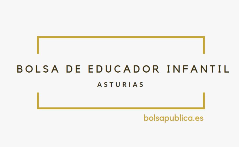 Bolsas LangreoasturiasBolsapublica es Educador En Infantil De nP80XwkO