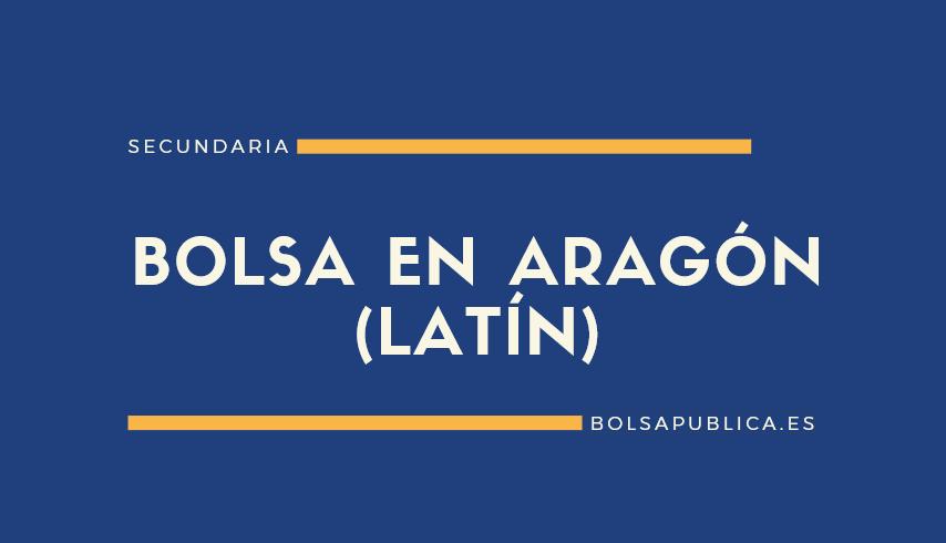 Bolsa de Secundaria en Aragón para latín