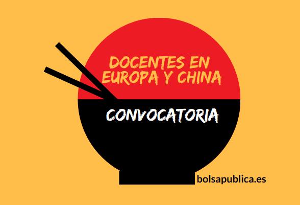 Maestros y Profesores en China y Europa