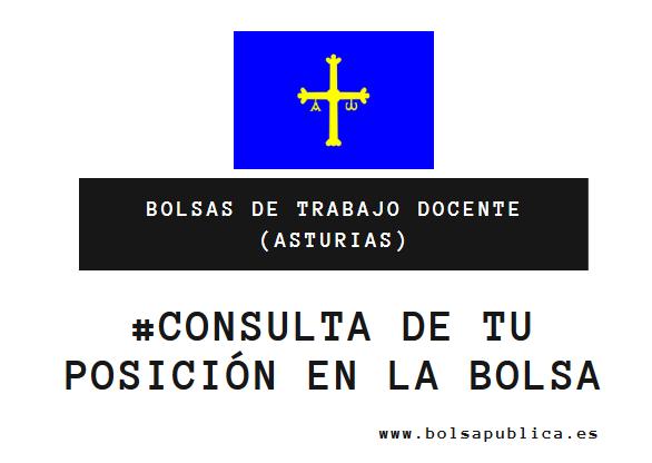 listas consulta de interinos en Asturias docentes