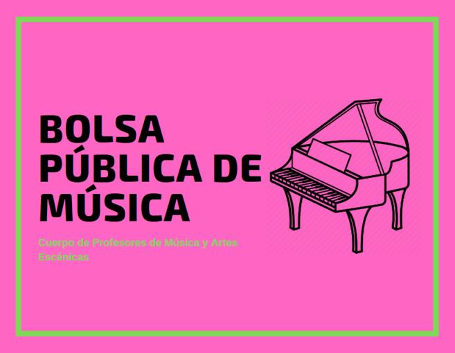 bolsa de trabajo para profesores de música
