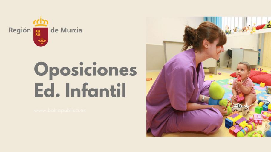 oposiciones de Educadores Técnicos infantiles en Murcia