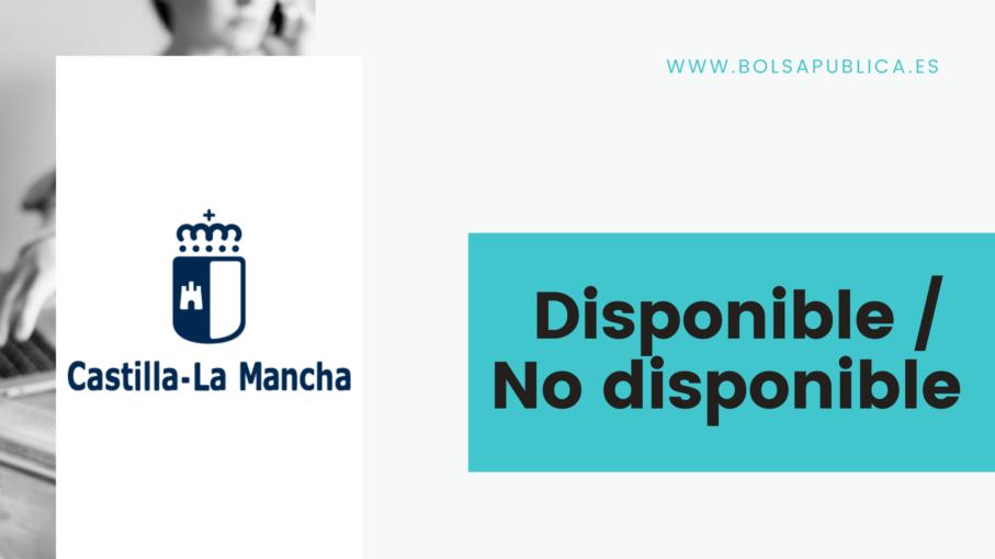 Cambio de disponibilidad en educación de Castilla la Mancha