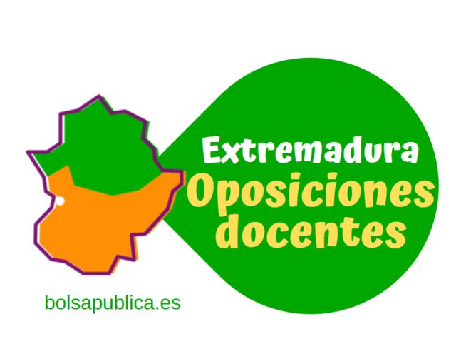 Extremadura oposiciones Educación 2021