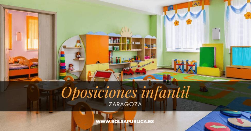 oposiciones técnicos de infantil en zaragoza