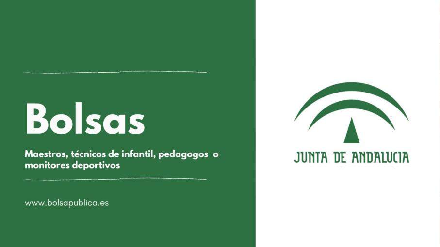 bolsas abiertas para maestros y guarderías junta de Andalucía