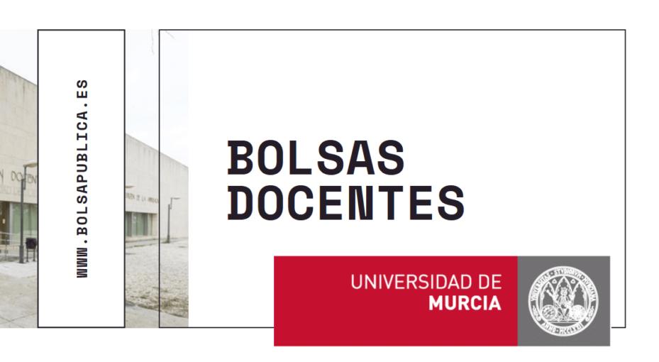 bolsa docentes profesores educación Universidad Murcia