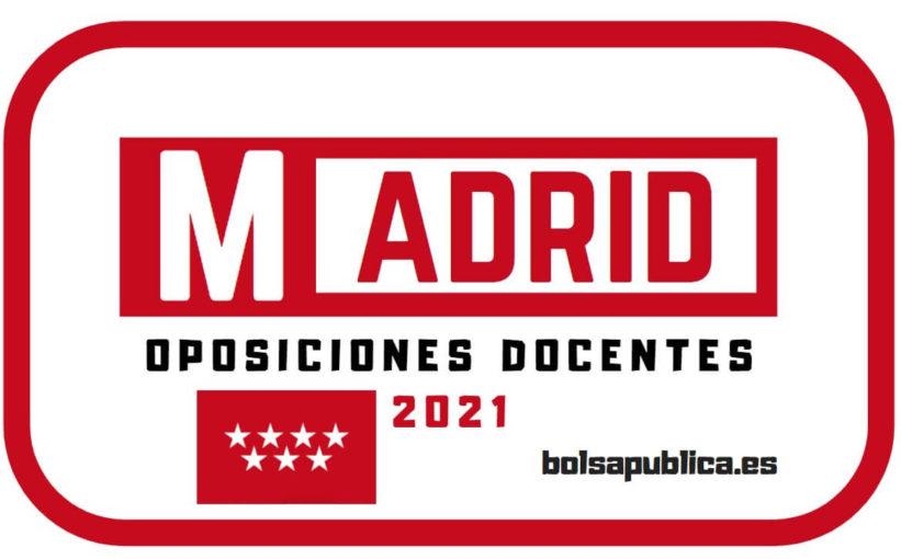 Oposiciones de Educación 2021 en Madrid