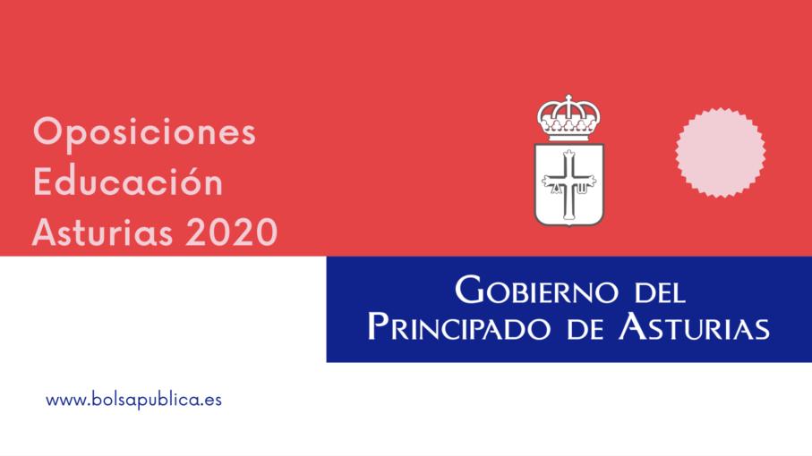 oposiciones educación Asturias 2020