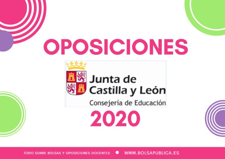 Oposiciones docentes en Castilla y León 2020 Secundaria y FP
