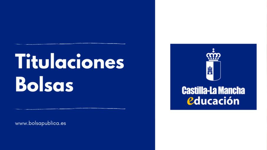 Titulaciones necesarias para ser maestros o profesor interinos bolsas de Castilla la Mancha