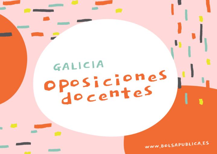 oposiciones docentes galicia secundaria, fp maestros