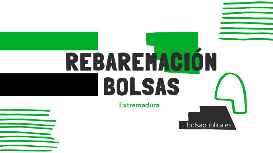 Rebaremación bolsas de interinos docentes de Extremadura