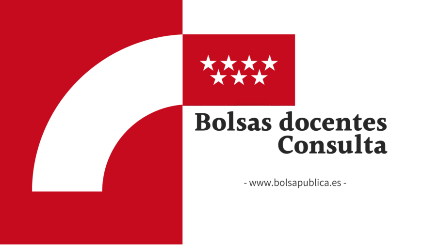 Consulta de posición en bolsas docentes de Madrid