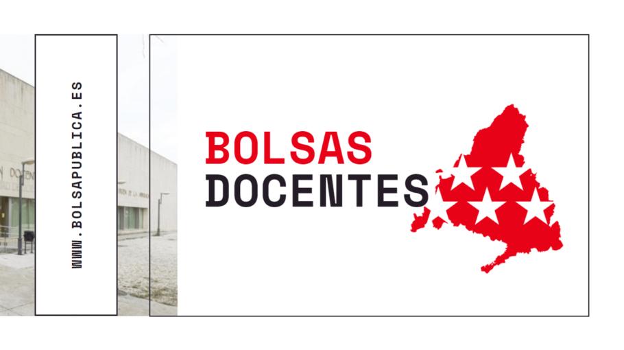 Bolsas docentes en Madrid curso 2020-21