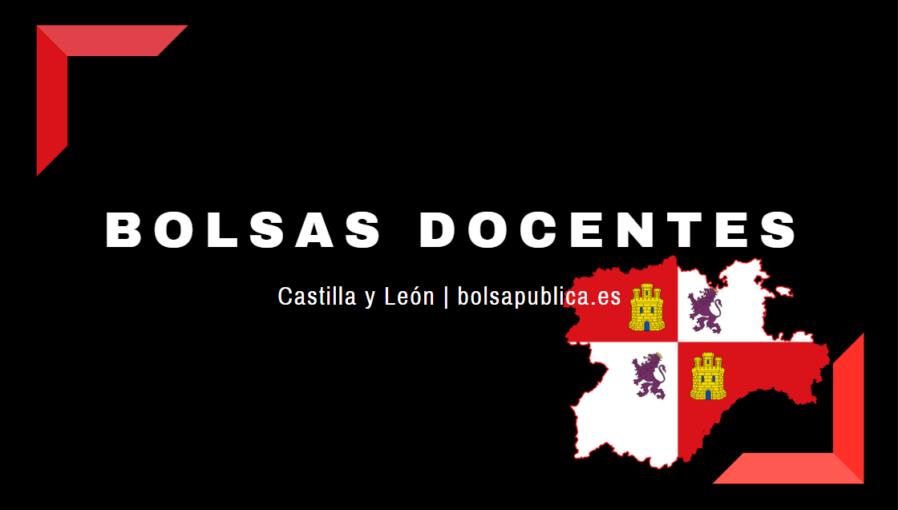 Bolsas docentes abiertas en Castilla y León