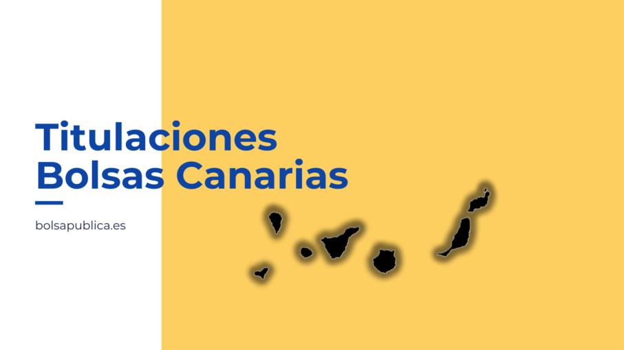 Titulaciones necesarias para bolsas docentes de Canarias