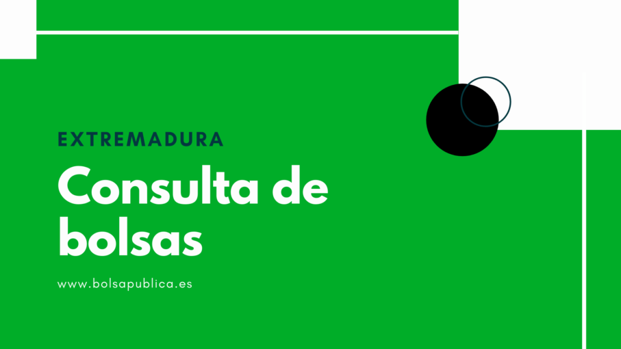 Consulta de bolsas docentes en Extremadura