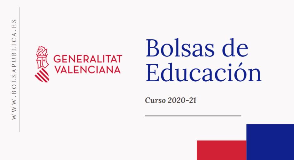 bolsas para profesores y maestros en la Comunidad Valenciana