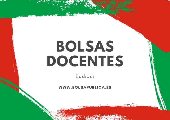 Euskadi bolsas docentes