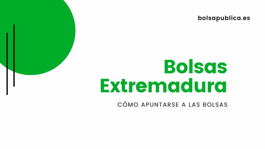 Tutorial ayuda bolsas docentes Extremadura