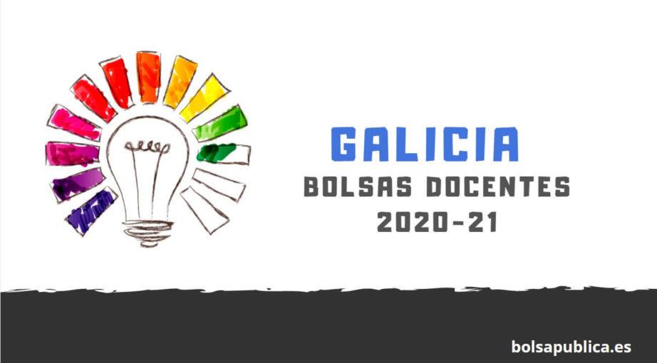 bolsas para docentes en Galicia 2020-21